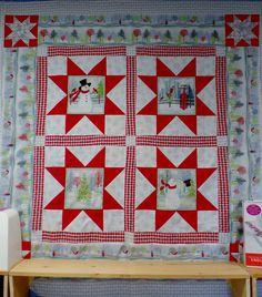 Free Pattern with purchase of panel!  http://www.findxdesigns.com/shop/Fabric-Notions-Patterns-Books/Fabric/Henry-Glass--Company/Holiday-Cheer/p/Holiday-Cheer-Panel--x3560287.htm