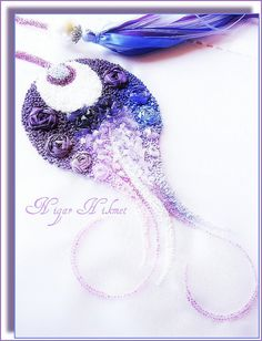 Wonderful Ribbon Embroidery Flowers by Hand Ideas. Enchanting Ribbon Embroidery Flowers by Hand Ideas. Couture Embroidery, Silk Ribbon Embroidery, Embroidery Thread, Embroidery Patterns, Creative Textiles, Lesage, Ribbon Art, Embroidery Techniques, Bead Art