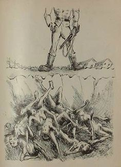 Peter Aldor : Center for Holocaust & Genocide Studies : University of Minnesota ~ Drawings by the Holocaust survivor artist Peter Aldor. Published by the Borochow-kr association, 1944-1945. Holocaust Memorial Art Album 1945 Hungary.