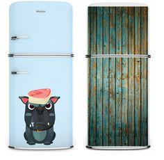 imãs de geladeira (um produto já muito comum no mercado), mas que inovou no formato. Os imãs possuem estamp