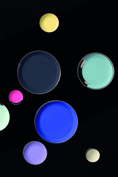 Discovery is inspired by galactic colours. Blues and purples give the theme a sense of depth while neutrals and a pink pop take it out of this world. Plascon Paint Colours, Paint Colors, Out Of This World, Create Yourself, Discovery, Blues, Painting, Inspiration, Pop