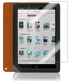 Skinomi TechSkin - Barnes & Noble Nook HD+ Screen Protector Ultra Clear Shield + Light Wood Full Body Protective Skin + Lifetime Warranty by Skinomi. $23.99. Save 20%!