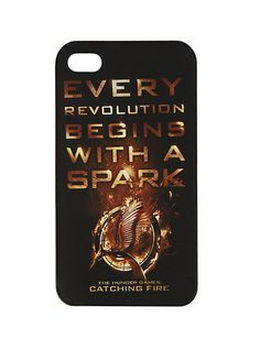 The Hunger Games: Catching Fire Revolution iPhone 4 Case | Hot Topic! OMG I MUST GET!