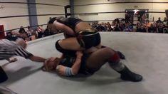 Women Wrestling - Shayna Baszler vs Christina Von Eerie 439 - YouTube