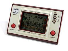 Nintendo Game & Watch Wide Screen Chef FP-24 MIJ 1981 Great Condition_60 #Nintendo