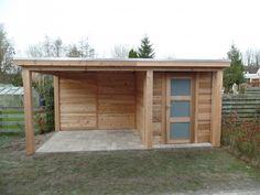 3256 project tuinhuis met platdak afbeelding 1