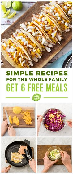 Enjoy 6 free meals (2 in each of your first 3 deliveries)!