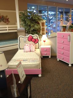 The Hello Kitty Bedroom Set which my daughter in law would love to have when she has a little girl of her own.  :-)