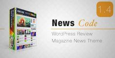 Download and review of Newscode-WordPress Review Magazine News Theme, one of the best Themeforest Magazine & Blogs themes