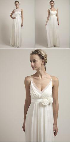 like the bottom dress... maybe minus the flowers