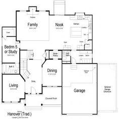 Mapleton Ivory Homes Floor Plan Main Level Ivory Homes