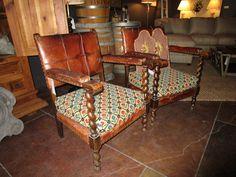 Pair Of Antique Italian Armchairs. Priced as Pair — Sarah Cyrus Home