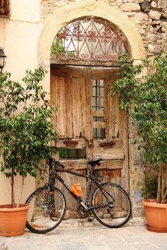 The Old City of Rethimno, Crete, Greece