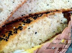 khobz dar sans petrissage / pain maison - Amour de cuisine
