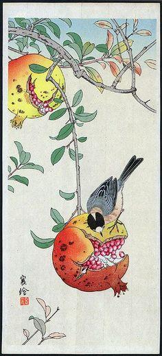 (via (3) Bird with pomegranate | Art and Artists | Pinterest)