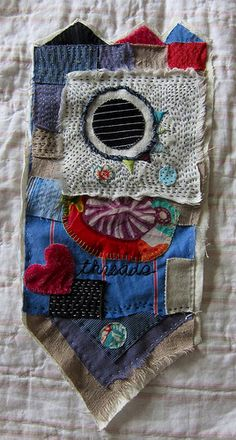 Freeform Embroidery and Appliqué by   Constanza Silva