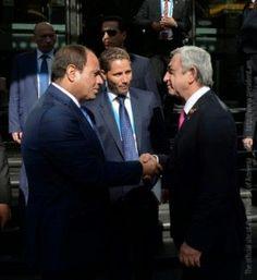 Presidentes de Armenia y Egipto se reúnen en Moscú | Soy Armenio