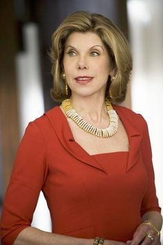 The deliciously talented Christine Baranski, a truly fabulous character actress.