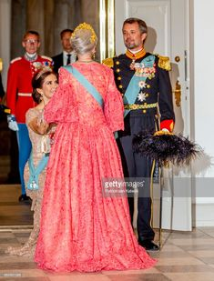 News Photo : Queen Margrethe of Denmark, Crown Prince Frederik...