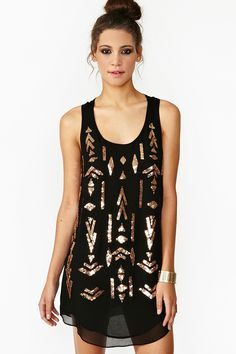 Mayan Sequin Dress