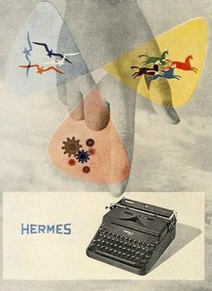 Hermes typewriter / Joseph Müller-Brockmann / 1950s