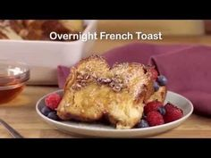 Overnight French Toast recipe - from Tablespoon!