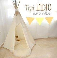 TThis is the tipi! he girl candy house: DIY: Indian Tipi Children Homemade Birthday Gifts, Homemade Christmas Presents, Diy Christmas Gifts For Kids, Birthday Gifts For Kids, Diy Gifts To Make, Diy Gifts For Kids, Fun Crafts For Kids, Diy For Kids, Kids Presents