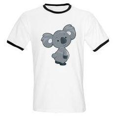 Cute Gray Koala T-Shirt
