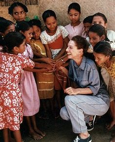"""Giving is living, if you stop wanting to give, there's nothing more to live for.""  -Audrey Hepburn"