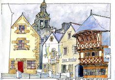 Saint Renan - Place du Vieux marché - 16 08 2015