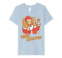 crazy cat christmas - Kids I Love Cats - Santa Meow Christmas Cat - Crazy Cat Lady 6 Baby Blue -- Be sure to check out this awesome product. (This is an affiliate link) #CrazyCats