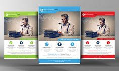Creative Design Flyer Template by Business Templates on @creativemarket