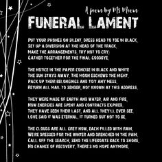 I Have Always Loved The Poem Funeral Blues By WAuden Ever Since Saw It Many Years Ago In Four Weddings And A Inspired This