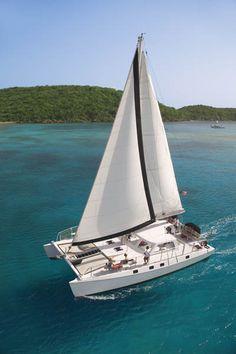 25 year anniversary vow renewal on catamaran in Kauai Catamaran Design, Sailing Catamaran, Sailing Trips, Us Sailing, St Thomas Wedding, Tug Boats, Sail Boats, Sailboats For Sale, Nassau Bahamas