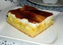 Tvarohovo-sněhový koláč