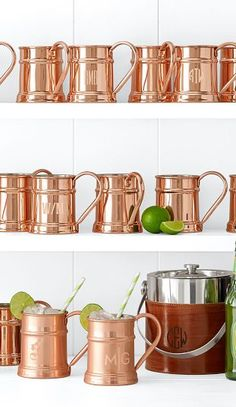 Love these copper mugs http://rstyle.me/n/bexn3nyg6