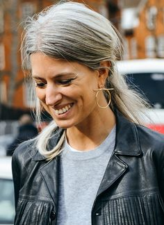 not your average hoop earrings // #streetstyle