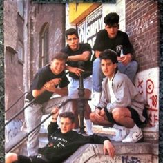 New Kids on the Block! I loved the 80's !!!!