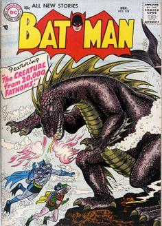 Batman n°104 (1956) - Cover by Sheldon Moldoff