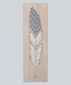 Look at this Pulled Rope Wall Art on #zulily today!