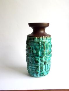 West German pottery vase  #MidCenturyFLA