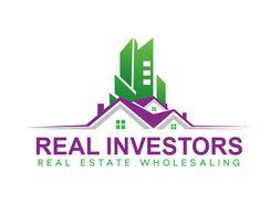 Real Investors Logo For Estate