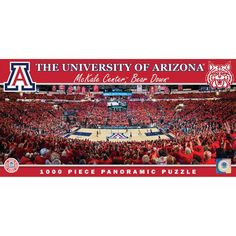Arizona Wildcats 1000 Piece Basketball Arena Jigsaw Puzzle