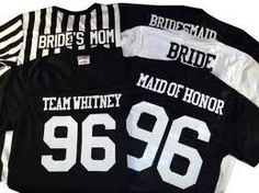 Im so doing this for our stag!!!! Yeah baby then we can wear these for the game the day after wedding :0) very cool!! wedding-dreams-creations-ideas