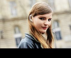 Cyborg Ear. Tommy Ton Shoots the Street-Style Scene at the Fall 2013 Shows