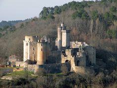 Château de Bonaguil à Saint-Front-sur-Lémance (Lot et Garonne)