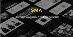 #Minimal #Photography #Portfolio #Template. Description SMA is a HTML5 template for photographers, Designers, and Creative Teams. Clean and minimal design. Main Features Clean Code HTML5 Canvas and CSS3 Animation Unique and Clean Design Easy Customization Fullscreen Slider Smooth Animations 100% Responsive Retina Ready Bootstrap 4 Grid Well Documented Parallax effect Google Fonts Free Update Font Awesome Icons