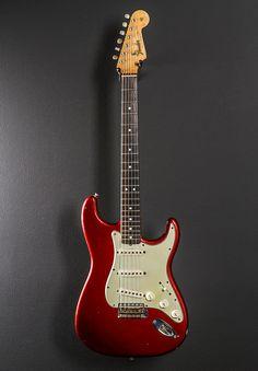 Fender Strat 1964 Candy Apple Red   Reverb