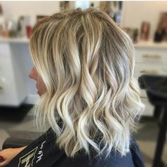 Gorgeous cool blonde tones