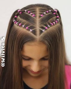 Cute Little Girl Hairstyles, Cute Braided Hairstyles, Cute Hairstyles, Teen Girl Hairstyles, Flower Girl Hairstyles, Wacky Hair Days, Sophisticated Hairstyles, Braided Prom Hair, Girl Hair Dos